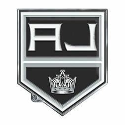 Los Angeles Kings LA Raised 3D COLOR Metal Auto Emblem Home