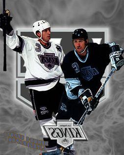 Los Angeles Kings  Lithograph print of Wayne Gretzky