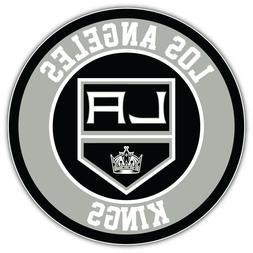 Los Angeles Kings Logo NHL Sport Car Bumper Sticker Decal -