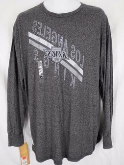 Los Angeles Kings Men's Gray Long Sleeve Shirt Size XLarge