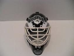 Los Angeles Kings Mini Goalie Helmet Mask Riddell - EXCELLEN