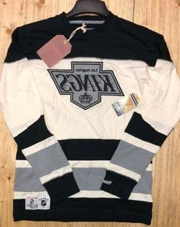 LOS ANGELES KINGS MITCHELL & NESS VINTAGE LONG SLEEVE NEW WI