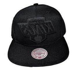 Los Angeles Kings Mitchell & Ness XL Vintage Black Tone Snap