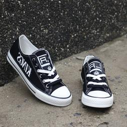 Los Angeles Kings National Hockey Team Canvas Shoes Sneaker