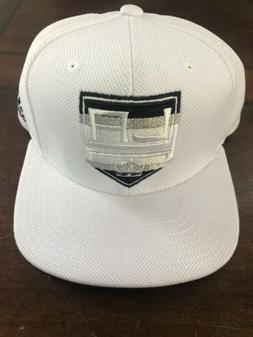 Los Angeles Kings New Adidas Snapback Hat Cap White Flat Bri