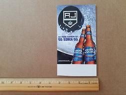 Los Angeles Kings NHL Bud Light Table Top Stand