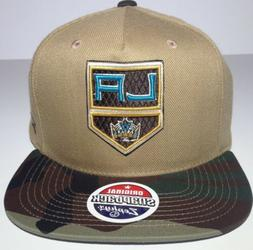Los Angeles Kings NHL camouflage visor Zephyr snap-back /hat