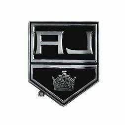 Los Angeles Kings NHL Chrome Car Emblem