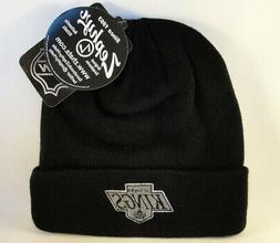 Los Angeles Kings NHL Zephyr Cuffed Knit Hat Black