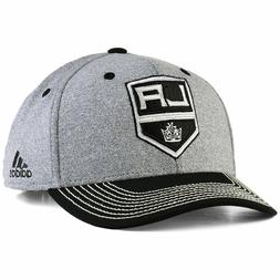 Los Angeles Kings Adidas NHL Heather Line Change Snapback Ca