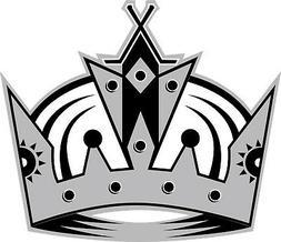 Los Angeles Kings NHL LA Crown Vinyl Decal - You Choose Size