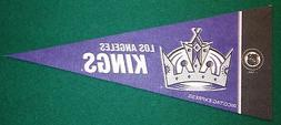 LOS ANGELES KINGS NHL MINI PENNANT, NEW & MADE IN USA