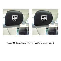 Los Angeles Kings NHL Polyester Head Rest Cover