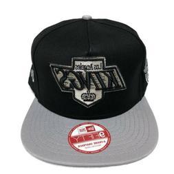 Los Angeles Kings NHL Retro Logo 2-Tone A-Frame Snapback Cap