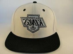 Los Angeles Kings NHL Snapback Hat Cap Gray Black