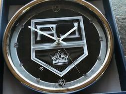 "Los Angeles Kings NHL Wall Clock - Chrome - 12"" WinCraft"