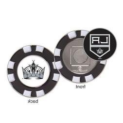 Los Angeles Kings Poker Chip Golf Ball Marker