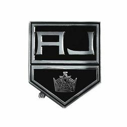 Los Angeles Kings Premium Solid Metal Chrome Auto Emblem Rai