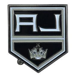Los Angeles Kings Premium Solid Metal COLOR Auto Emblem Rais