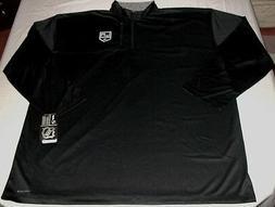 Los Angeles Kings Quarter Zip Long Sleeve Jersey Shirt Cool