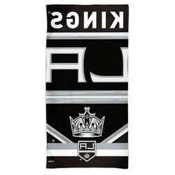"LOS ANGELES KINGS SPECTRA BEACH TOWEL 30""X60"" COTTON PLUSH H"
