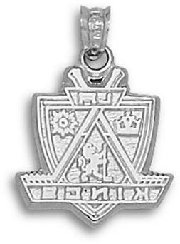 Los Angeles Kings  Sterling Silver Logo Pendant-