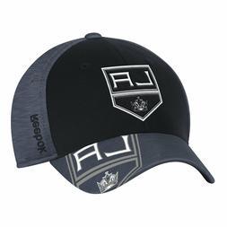 Los Angeles Kings Structured Flex Fit Logo Cap Adult Hat Cen
