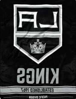 Los Angeles Kings  Super Plush Fleece Throw Blanket