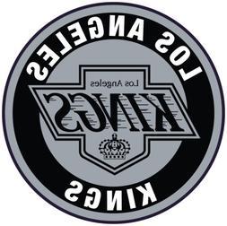 Los Angeles Kings Throwback Circle Logo Vinyl Decal / Sticke