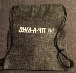 "Los Angeles Kings TIP-A-KING Drawstring Backpack 16""x13"""