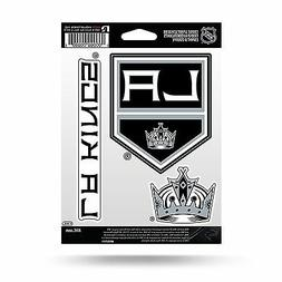 Los Angeles Kings Triple Sticker Multi Decal Spirit Sheet Au