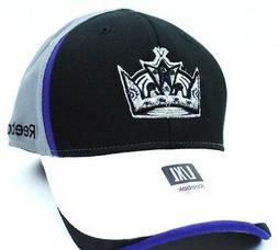 Los Angeles Kings Reebok TT63Z NHL Pro Shape Flex Fit Hockey
