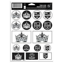 Los Angeles Kings Vinyl Die-Cut Sticker Set / Decal Sheet *F