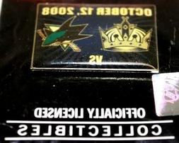 Los Angeles Kings vs San Jose Sharks NHL Lapel Hat Shirt Pin