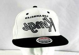 Los Angeles Kings White/Black Baseball Cap Snapback