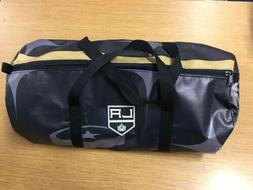 Los Angeles LA Kings Custom Made Vinyl Duffel Bag from 2017