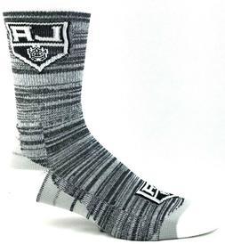 Los Angeles LA Kings Hockey Deuce RMC Black Crew Socks