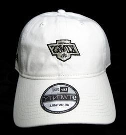 LOS ANGELES LA KINGS Logo New Era Hat Cap Adjustable White O
