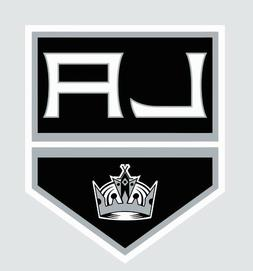 Los Angeles LA Kings NHL Hockey Full Color Logo Sports Decal