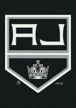 Los Angeles LA Kings NHL Team Spirit Area Rug Milliken