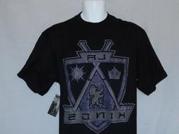 NEW Los Angeles Kings Hockey T-Shirt NHL Majestic Pullover T