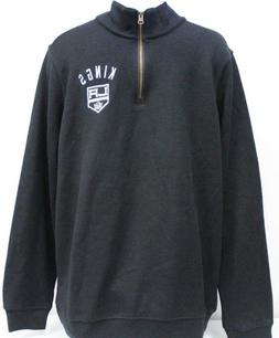 *NEW* Los Angeles Kings Men's NHL Team Apparel 1/4 Zip Pullo