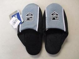 New-Minor-Flaw Los Angeles Kids NHL Slippers Unisex Kids XL