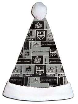 NEW NHL LA Los Angeles Kings Christmas Hockey Santa Hat Pers