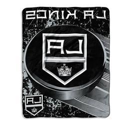 "New NHL Los Angeles LA Kings Micro Blanket Throw 46"" x 60"" L"