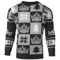 NHL Hockey Los Angeles Kings Ugly Patches Sweater by KLEW -