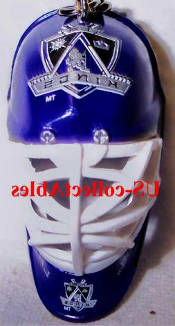 NHL LA KINGS Hockey Goalie Face Mask Keychain Rare Sports Co