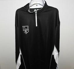 NHL Majestic Los Angeles Kings 1/4 Zip Hockey Jacket New Big