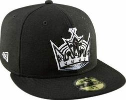 NHL Los Angeles Kings Basic Black & White Cap # 7 3/8