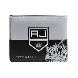 NHL Los Angeles Kings Mens Bi-Fold Walletnhl Bi-Fold Wallet,